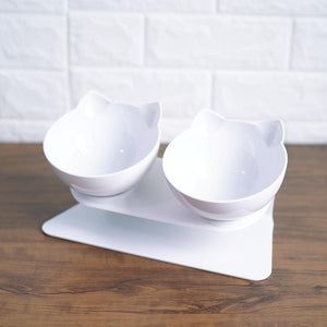 Designer Elevated Frenchie Bowl (WS43) - frenchie Shop
