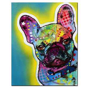 The Frenchie - Canvas
