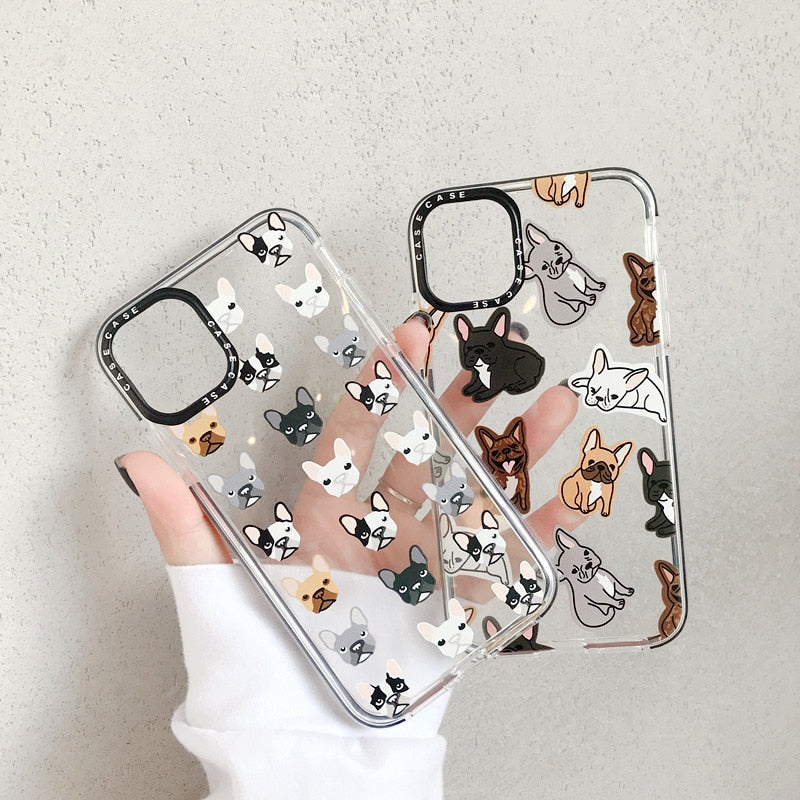 Frenchie Cases for iPhones (CS08) - Frenchie Bulldog Shop