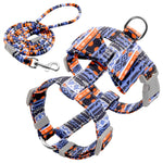 Adjustable Harness with Free (WS96) - Frenchie Bulldog Shop