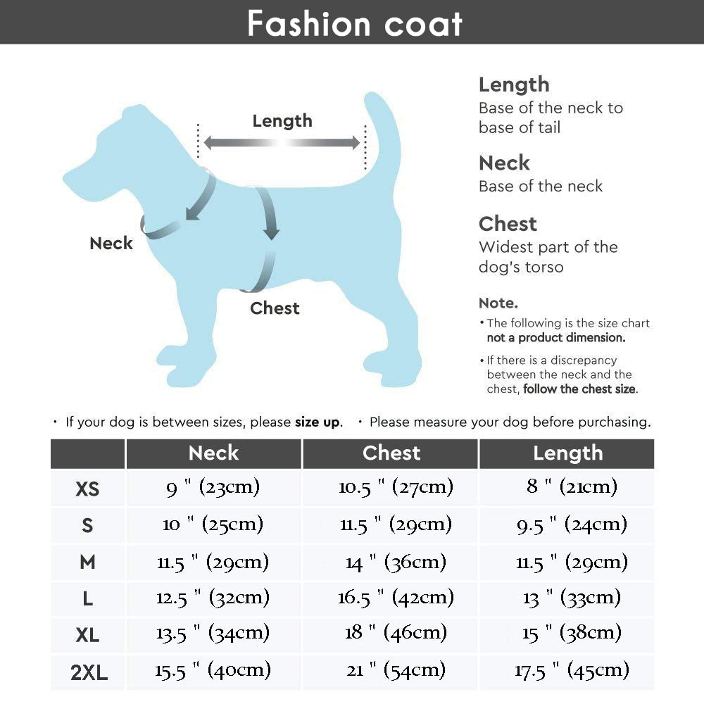 Waterproof Winter Coat for Frenchie (WS307) - Frenchie Bulldog Shop