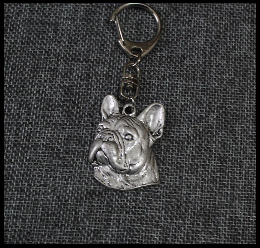 New  french BullDog Keychain