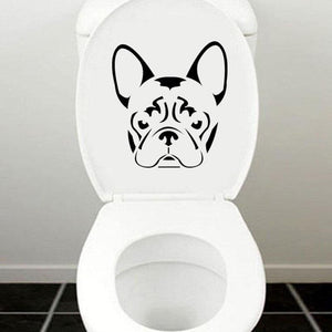 Frenchie Face - Sticker