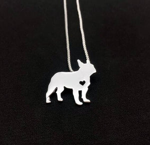 Necklaces for Frenchies lovers