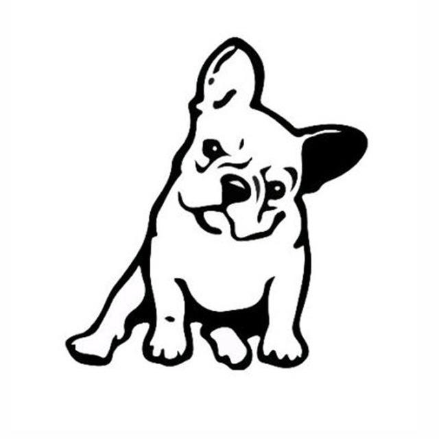 Light switch Sticker - Cute Frenchie