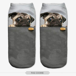 3D Socks - frenchie Shop