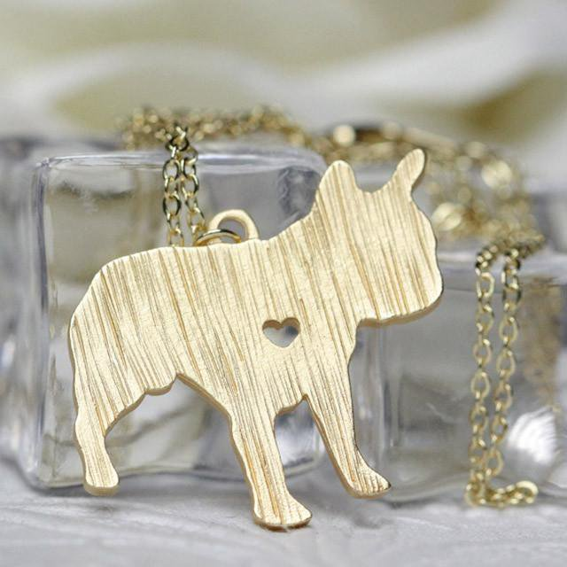 French Bulldog Necklaces - frenchie Shop