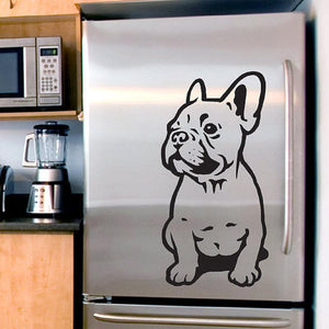 French Bulldog stickers for Fridge