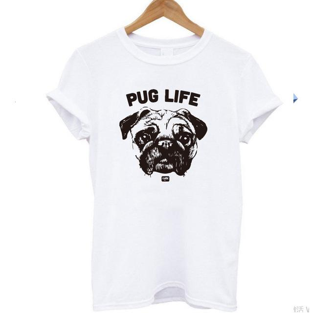 T-Shirt for Pug lovers - frenchie Shop