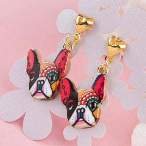 New Earrings for Frenchies Lovers