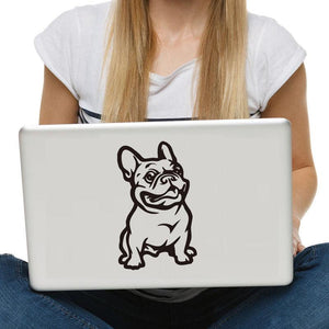 My French Bulldog - Stickers for Laptop