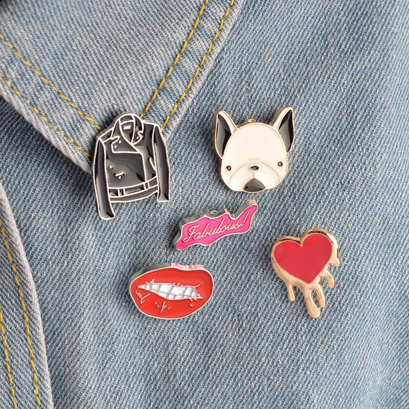 French Bulldog Button Pins