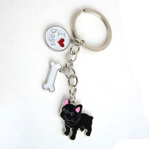 French Bulldog keychains