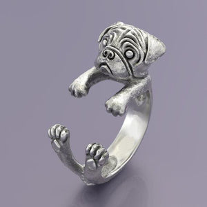 Pug Ring - frenchie Shop