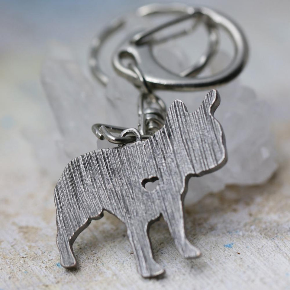Keychain for French Bulldog Lovers