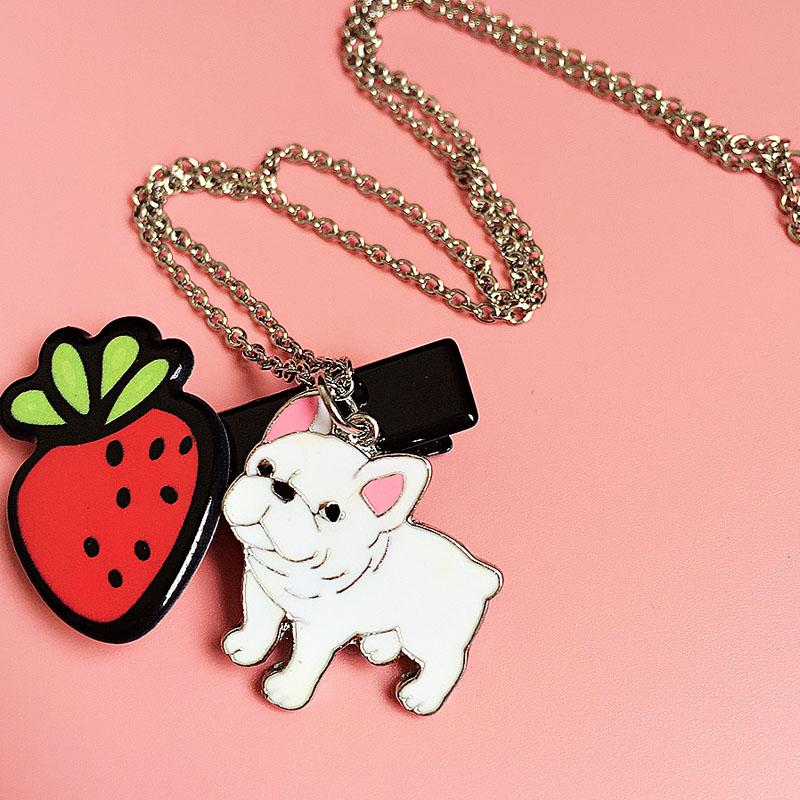 French Bulldog Necklace and Bracelet - frenchie Shop