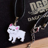 French Bulldog Necklace and Bracelet