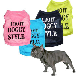 I DO IT DOGGY STYLE - T-shirt for Summer