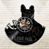 I Love Dog - Wall Clock