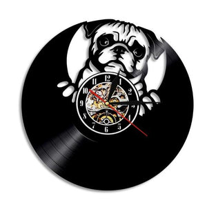 Levely Pug -  Wall Clock