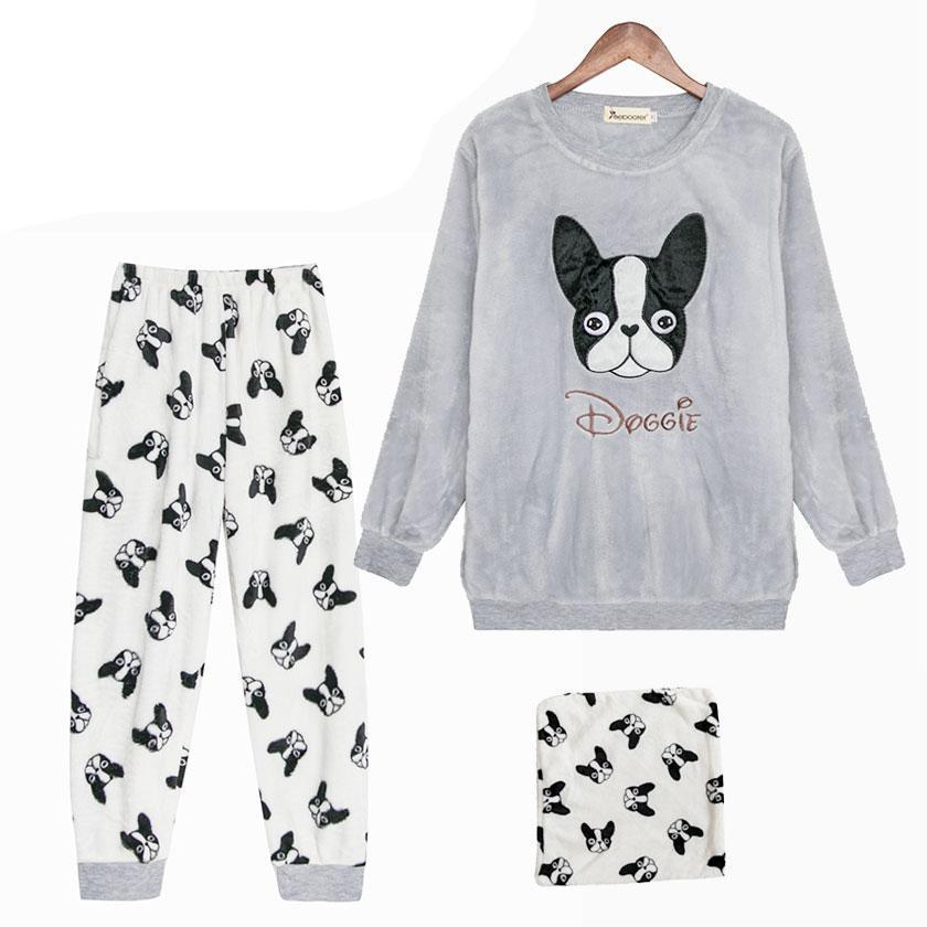 Frenchie Winter Pajamas (WS53) - frenchie Shop
