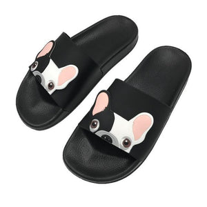 Slippers For Frenchies Lovers (WS67) - Frenchie Bulldog Shop
