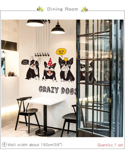 Crazy dogs - Stickers