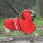 Reflective Raincoat for French Bulldog (WS62) - Frenchie Bulldog Shop