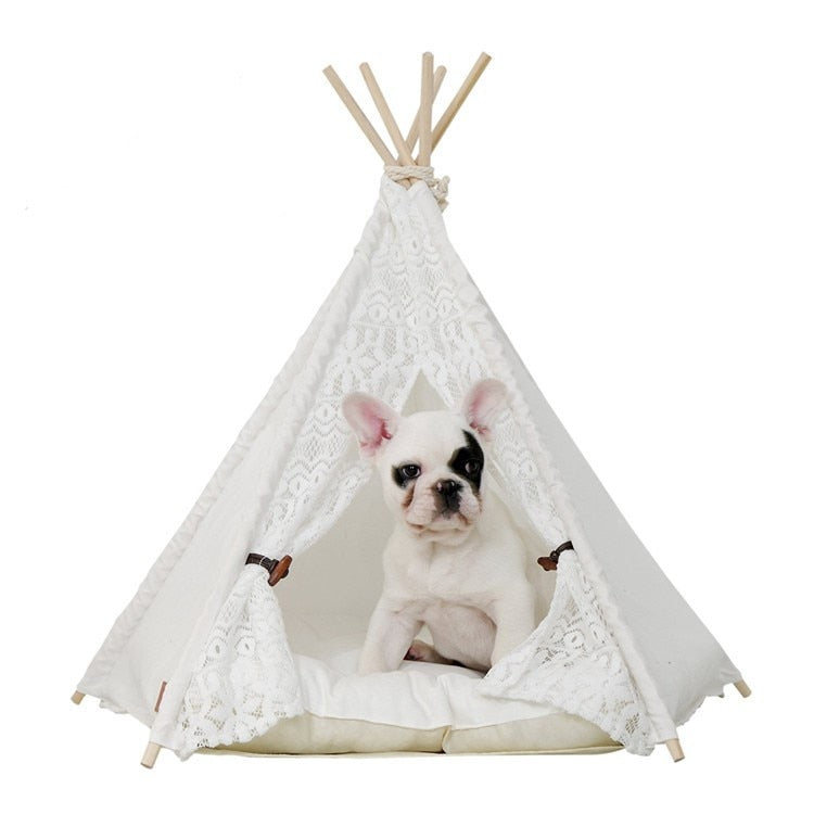 Teepee bed For Frenchies