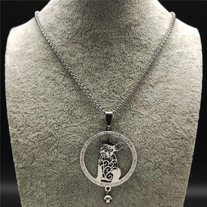 Crystal Necklace - Frenchie Bulldog Shop