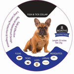 DEFEAX ™ PRO GUARD FLEA AND TICK COLLAR FOR FRENCHIES - Frenchie Bulldog Shop