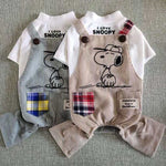 I love Snoopy Jumpsuit - frenchie Shop