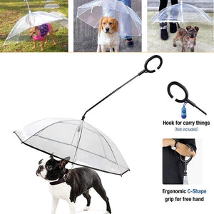 Rain Gear Walking Umbrella for French Bulldog - Frenchie Bulldog Shop