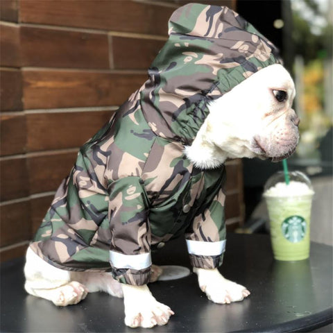 Reflective Raincoat (WS45) - frenchie Shop