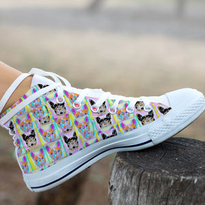 High Top Shoe - The frenchies Colors - frenchie Shop