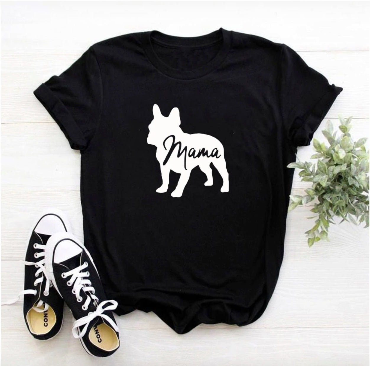 Frenchie Mama - Unisex T-Shirt - Frenchie Bulldog Shop