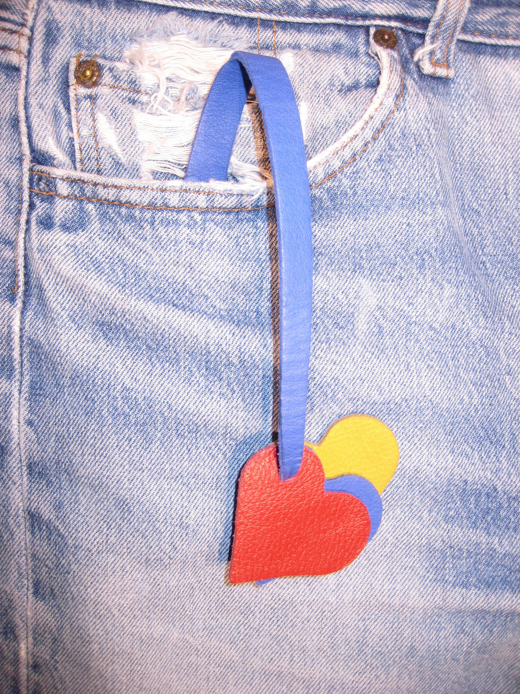 keetail blue with three primary colors heart keepods
