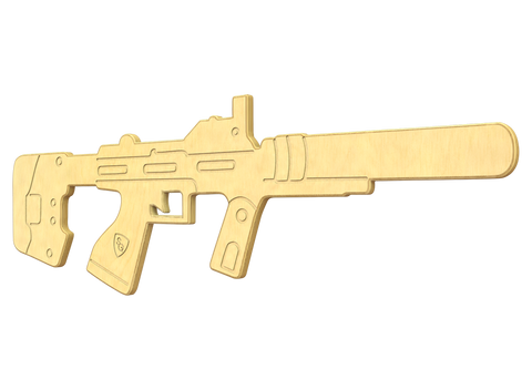 Caseless Submachine Gun