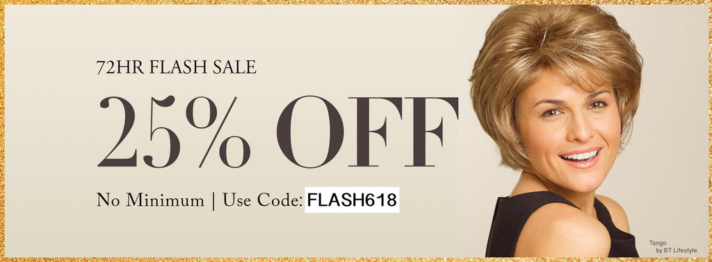 June Flash Sale Wigs and Hairpieces