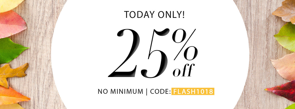 October Flash Sale