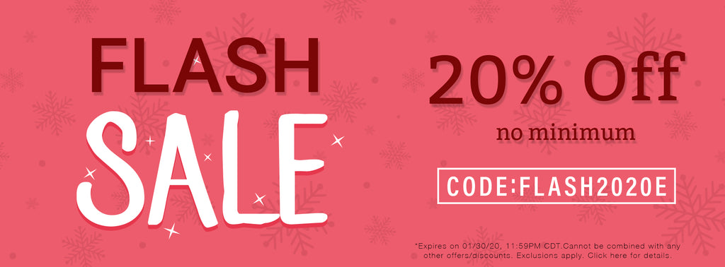 End of January Flash Sale