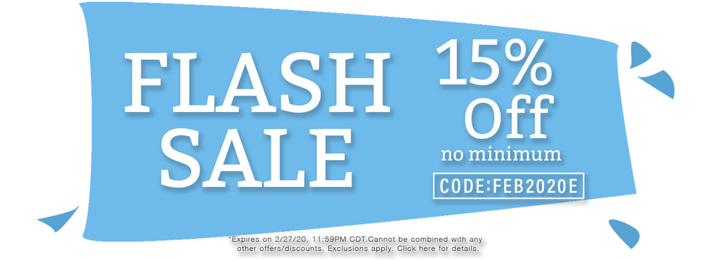 End of February Flash Sale
