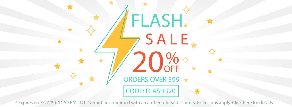 End of March Flash Sale