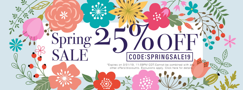 BeautyTrends Spring Sale 2019 25% Off