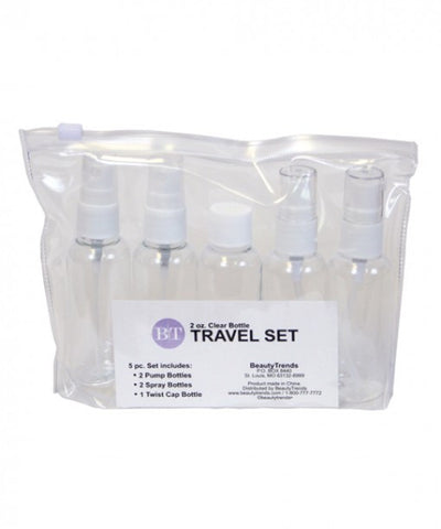 Clear Travel Bottle