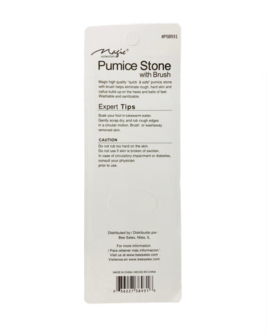 Pumice Stone with Brush