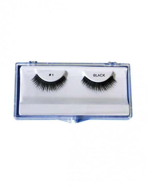Long Wispy Layered False Eyelash (#1)
