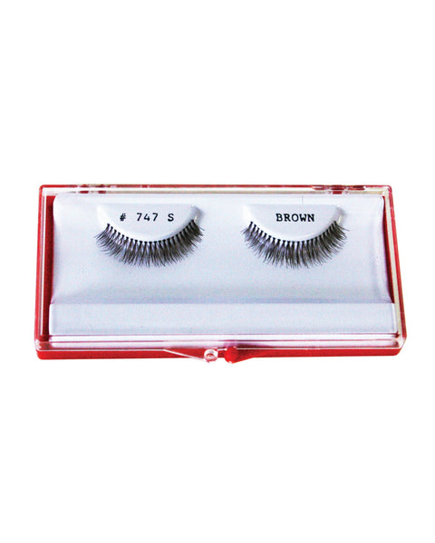 Thin Addition Eyelash - Brown