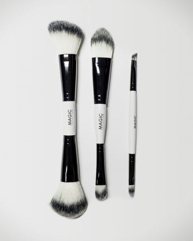 3-Pcs Dual Ended Brush Set