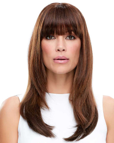 easiFringe HH Clip In Bangs | Color shown: 6RN